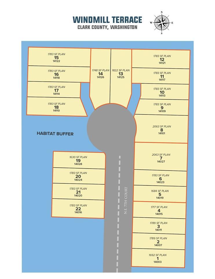 Windmill Terrace Site Plan