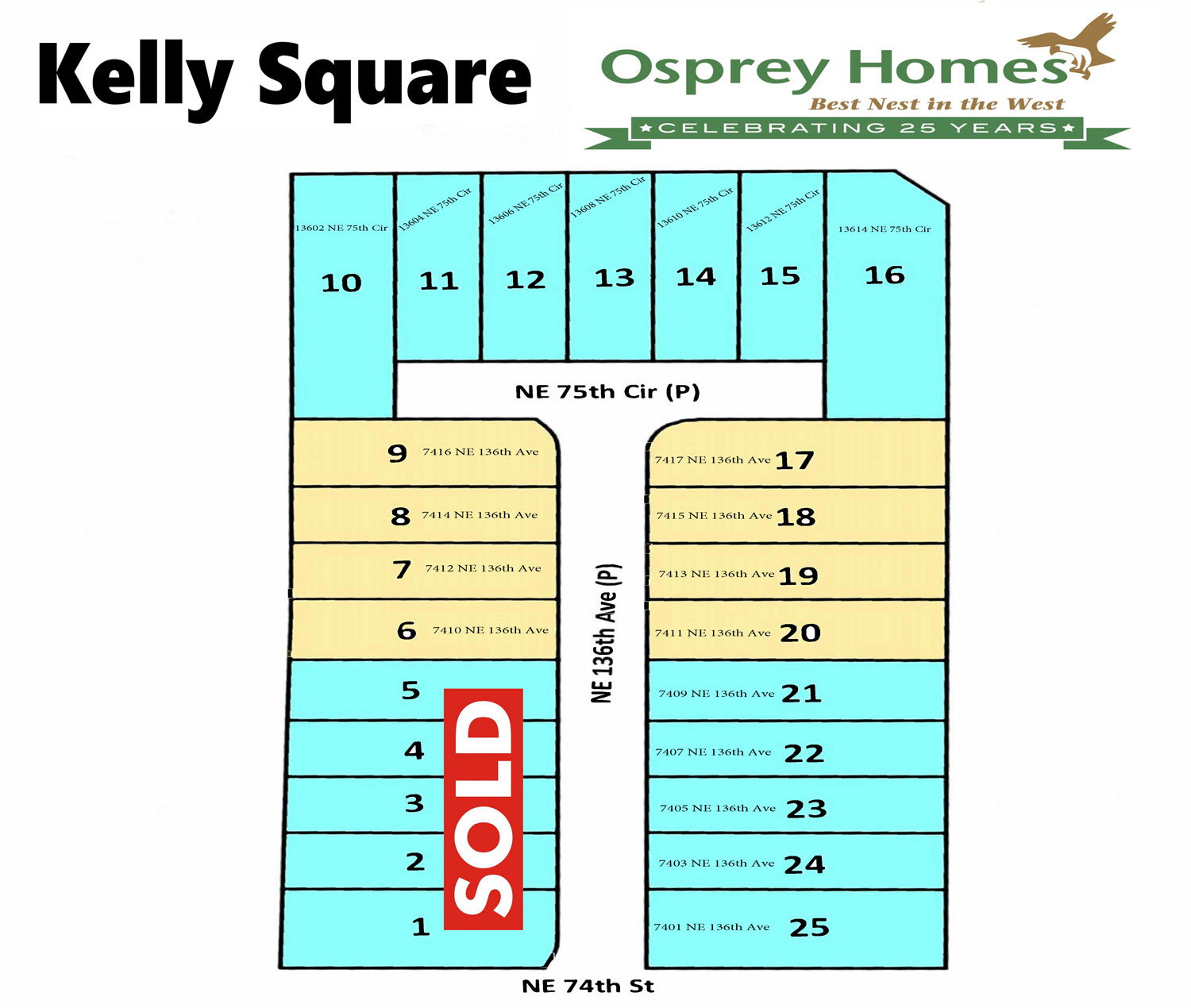 Kelly Square Plat Map